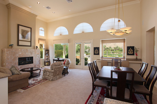 This gorgeous home is listed for $829,990 by Heidi Kasama of Windermere in Las Vegas, Nevada.
