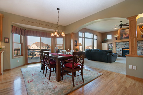 This beautiful Minnesota home is listed for $549,900 by Al Strand of Edina Realty.