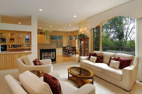 A nice open layout is showcased in this lovely Minnesota home.  It is listed for $535,000 by Jarrod Peterson of Edina Realty.