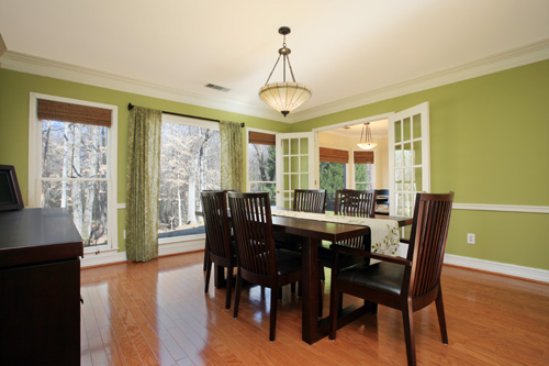 A beautiful photograph of this dining room really helps set this Georgia listing a part from the rest (and love that they captured the view of the trees!)!  This home is listed for $279,000 by Roy Crook of Coldwell Banker Atlanta.