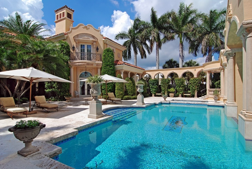 WOW...this gives many resorts a run for their money!  This Jupiter, FL, home is listed for $15,500,000 by Lynn Feuerman of the Corcoran Group.  Click the photograph to view more of this listing.